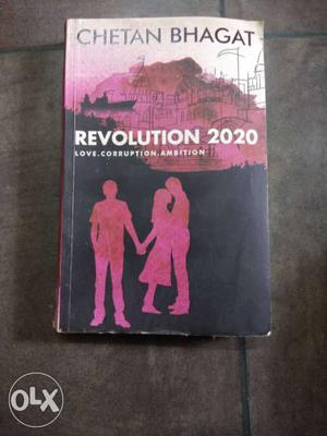 Revolution  Book By Chetan Bhagat