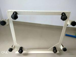 Top load front load washing machine heavy stand