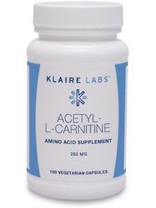 Klaire Labs Acetyl L-Carnitine 100 vcaps