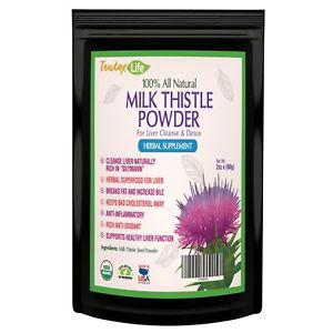 Milk Thistle for Liver detox cleanse and liver rescue