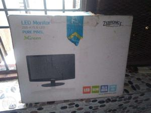 New led monitor with 2 years warranty never used