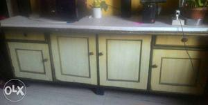 6ft x 3ft x 2ft TV cabinate made up of plywood,