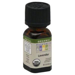 Aura Cacia - Aura Cacia Organic Lavender -.25 Oz - Pack Of 1