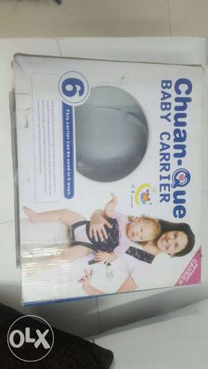 Chuan Que Baby Carrier - Holding soft talking