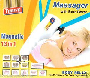 FACIAL MASSAGER 13 IN 1 THRIVE MEGNATIC, FACE MASSAGER,PAIN