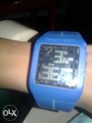 Fastrack watch digital dual time mode