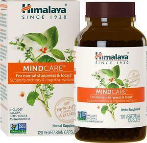 Himalaya MindCare/Menta t with Bacopa and Gotu Kola for