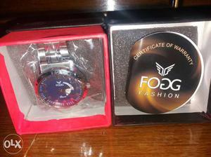 Very good brand new fogg watch MRP -  PRICE