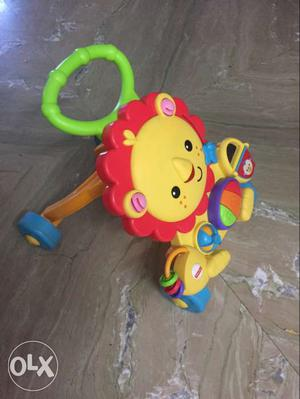 Fisher price baby lion walker. almost new. MRP is