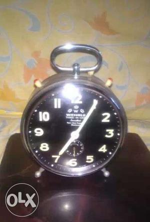JERMANY made Alarm clock Heavy Weight Mettal &
