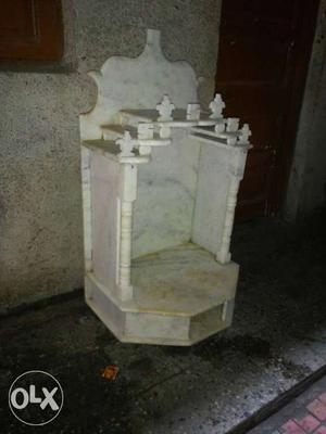 Marble devara want to sell unused marble devara Negotiable