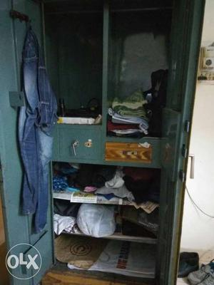 Strong steel cupboard. call l
