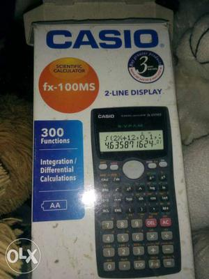 Black And Grey Casio FX-100 MS Box