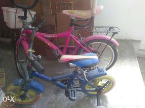 Both cycles in a very Gud condition