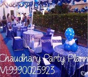 Chaudhary Party Planner New Delhi