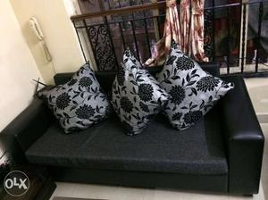 Sofa set 3+1+1 in excellent condition for sale.
