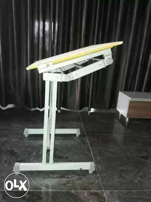 White And Yellow drafting Table its good condition