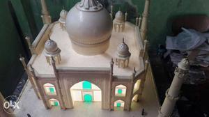 White Taj Mahal Miniature