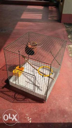 """Decorative bird cage (1'6""""x1'6""""x1'6"""")"""