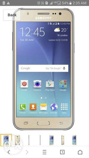Galaxy j5 series 12 mnths used good condition