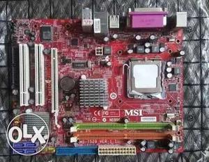 Intel Core 2 Duo Extreme Cpu Set (processor,mb,ram)