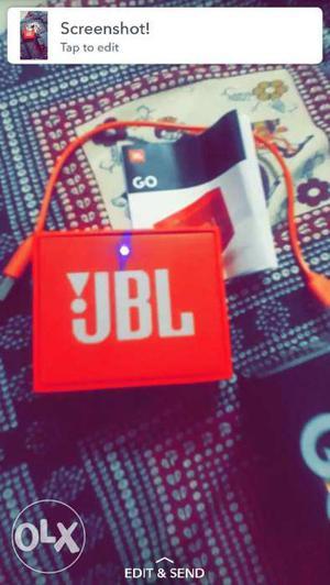 JBL Bluetooth speaker good condition 1 months old