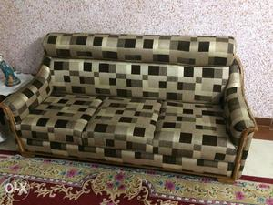 Sofa Set and dining table (Very Good Conditin)