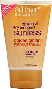 Alba Botanica Very Emollient Sunless Golden Tanning Natural