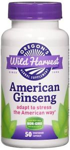 American Ginseng - 50 Vcaps,(Oregon' s Wild Harvest)