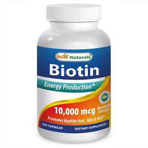 Best Naturals Biotin  mcg 200 Capsules