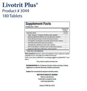 Biotics Research Livotrit Plus -- 180 Tablets by Biotics