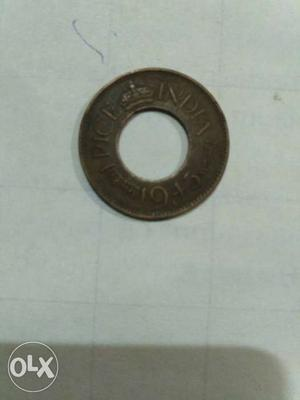 Black One Pice Coin