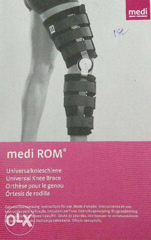 Medi-rom,universal Knee Braces For Leg Physiotheraphy -2