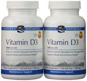 Nordic Naturals - Vitamin D- IU - 240 softgels
