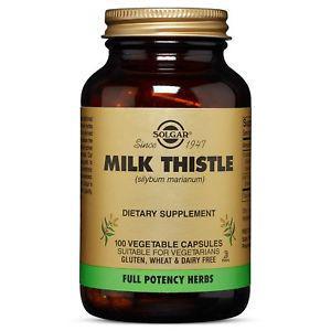 Solgar - Full Potency Milk Thistle, 100 Vegetable Capsules