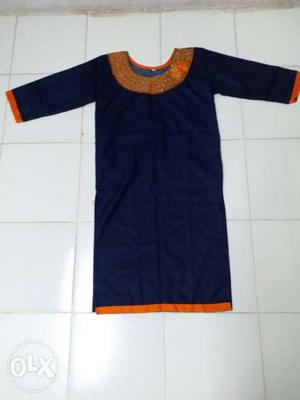 3 M Size Top Kurta. Note A Singal Time Used. All