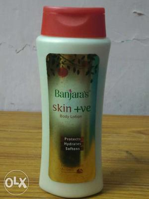 Banjara's Skin +Ve Body Lotion Bottle