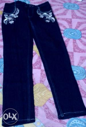 New fancy jeans for girls.Size 28