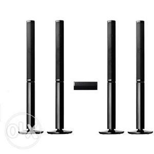 Pioneer SLT200 & S-51W 5.1 Tower speakers package Brand new