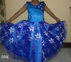 Customized kids fashionable western wears and gowns