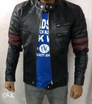 Genuine Leather Jackets available for flat