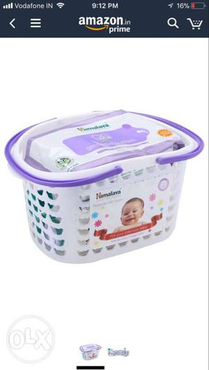 Himalaya Herbal Babycare Gift Pack Basket