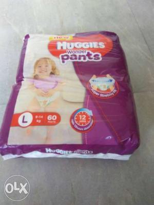 Huggies Wonder Pants L Size 60 Pants. Bought the