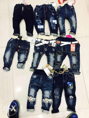 Kids jeans small n medium group fresh stock available from