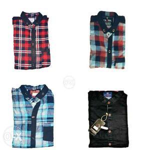 New Full Hand Shirts size M L Xl