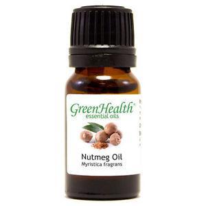 10 ml Nutmeg Essential Oil (100% Pure & Natural) -