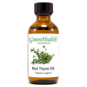 2 fl oz Thyme Red Essential Oil (100% Pure & Natural) From