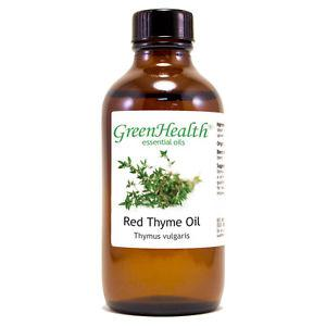 4 fl oz Thyme Red Essential Oil (100% Pure & Natural) - From