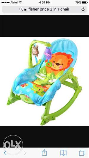 Fisher Price 3-in-1 rocker chair for infants to