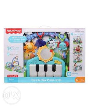 Fisher Price piano and gym for toddler. (used)